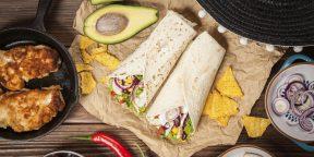11 рецептов буррито для любителей мексиканской кухни