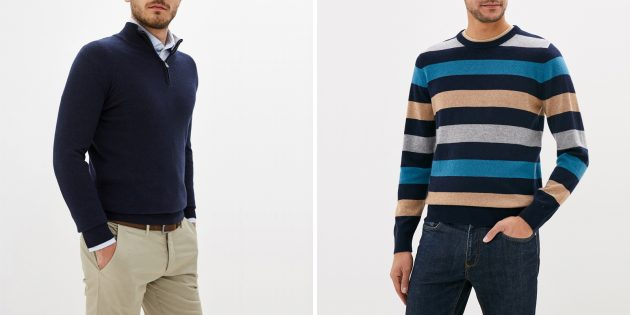 Что подарить папе на день рождения: кашемировый свитер