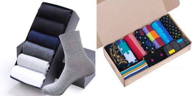 Что подарить папе на день рождения: коллекция носков