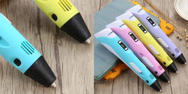Оригинальные подарки на Новый год: 3D-ручка