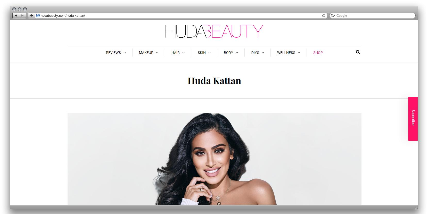 Худа Каттан (сайт)