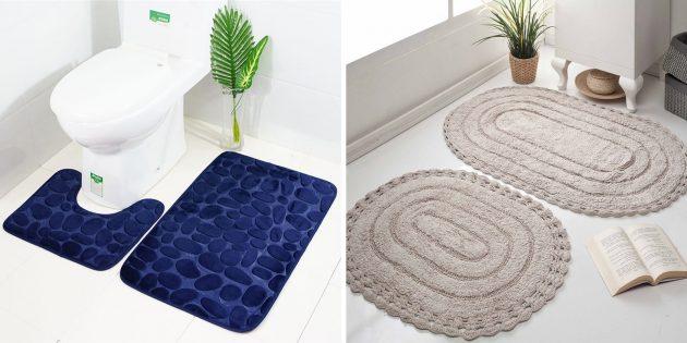 Что подарить маме на день рождения: красивый коврик для ванны или туалета