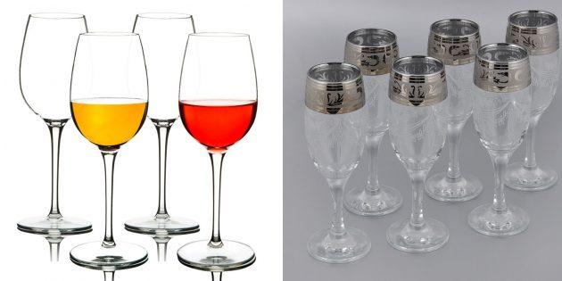 Что подарить маме на день рождения: набор красивых чашек или бокалов