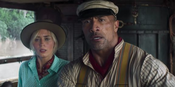 Вышел новый трейлер «Круиза по джунглям» — приключенческого фильма с Дуэйном Джонсоном и Эмили Блант