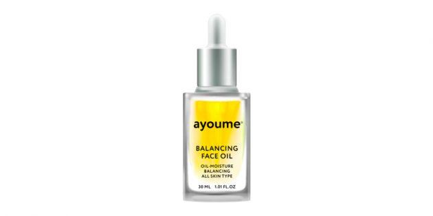Восстанавливающее масло для лица от Ayoume