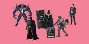 20 коллекционных фигурок персонажей из фильмов и игр c AliExpress