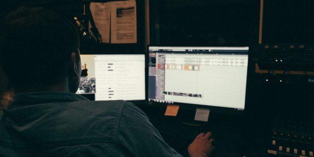 Так процесс записи видят звукорежиссёры