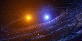 Видео дня: рождение двойной звезды на расстоянии 600 световых лет от Земли