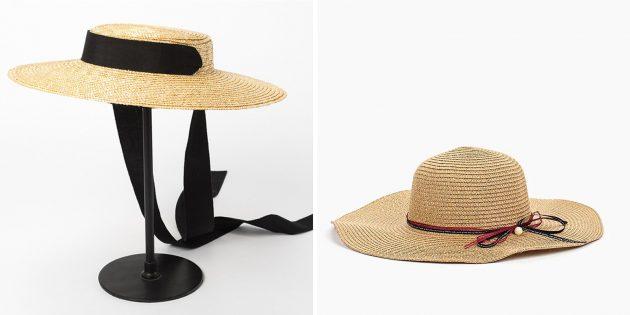 Шляпа с широкими полями