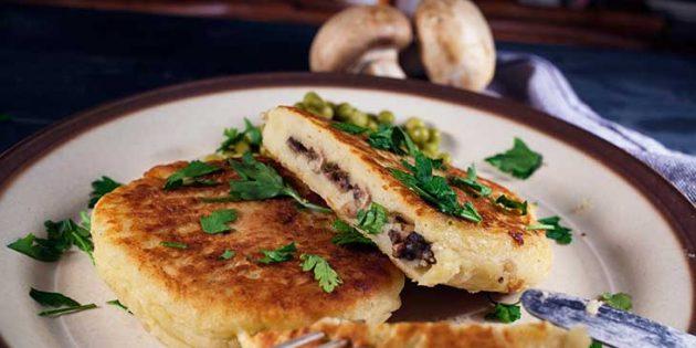 Картофельные зразы с курицей и грибами: простой рецепт