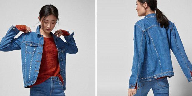 Джинсовая куртка от Springfield