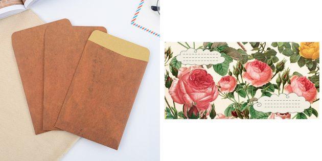 что подарить бабушке на день рождения: красивые конверты