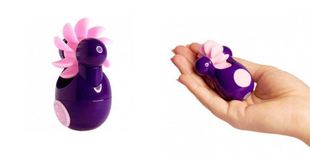 Вибростимулятор Sqweel Go Purple