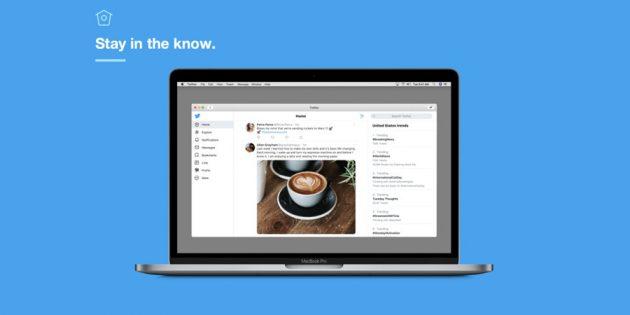 Официальное приложение Twitter снова доступно для Mac