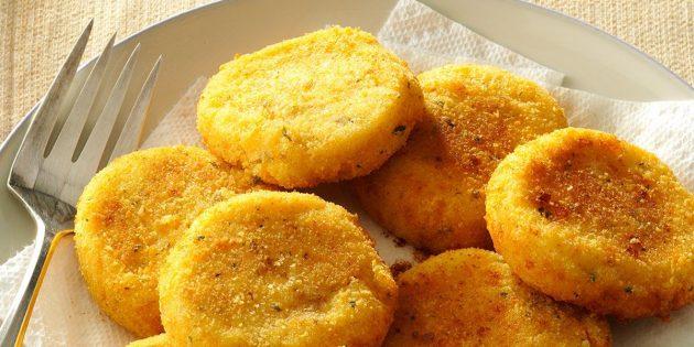 Картофельные зразы с морепродуктами