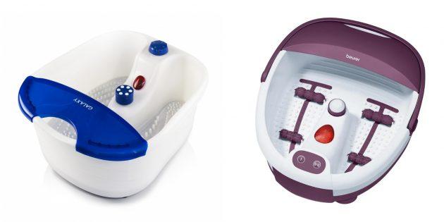 Электрическая ванночка для ног с функцией водяного массажа