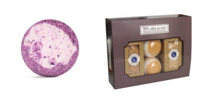 Что подарить маме на день рождения: соль и бомбочки для ванн с релакс-эффектом