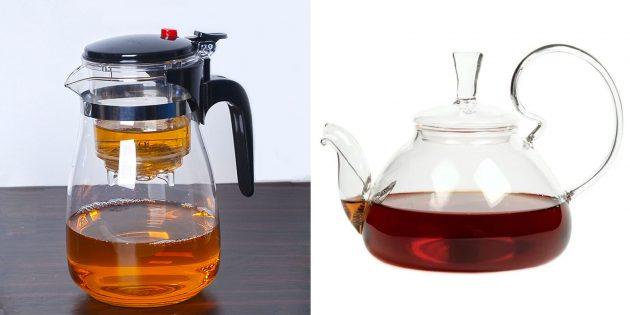 Что подарить маме на день рождения: большой заварочный чайник