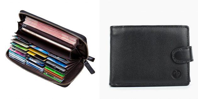 Что подарить папе на день рождения: бумажник
