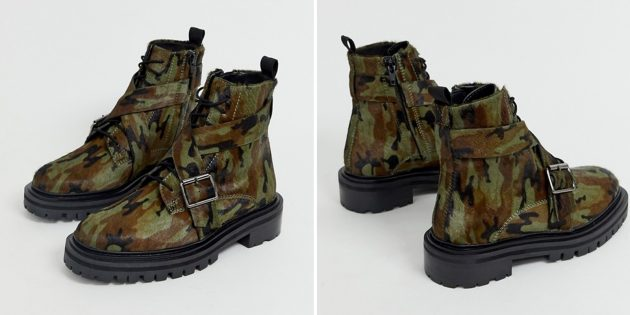 Ботинки Asos Design Agility