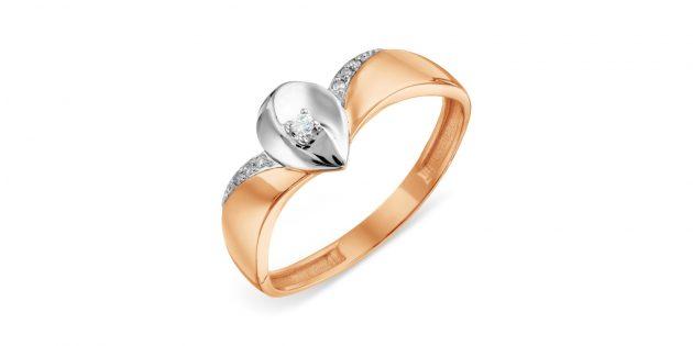 Кольцо с бриллиантами от «КоЮЗ Топаз»