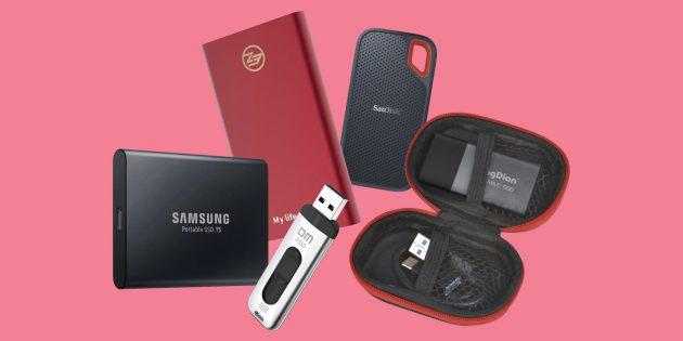 5 надёжных портативных SSD с AliExpress