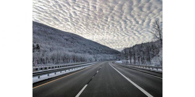 необычные облака