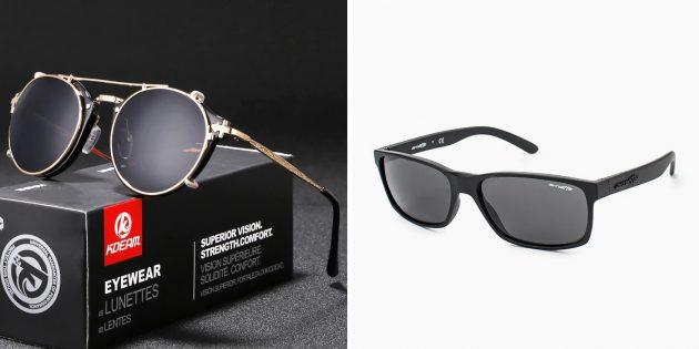 Что подарить папе на день рождения: солнцезащитные очки