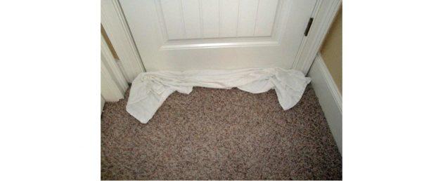 как решить проблему шума из коридора