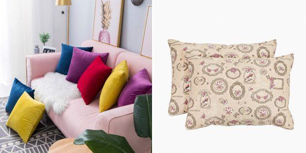 Набор декоративных наволочек для подушек