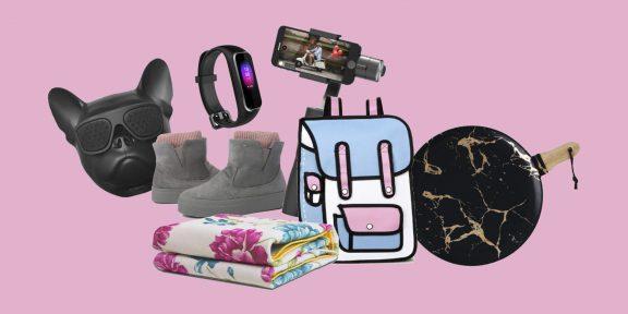 Находки AliExpress для женщин: одеяло с подогревом, длинный пуховик и 2D-рюкзак