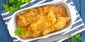 10 простых рецептов рыбы в кляре