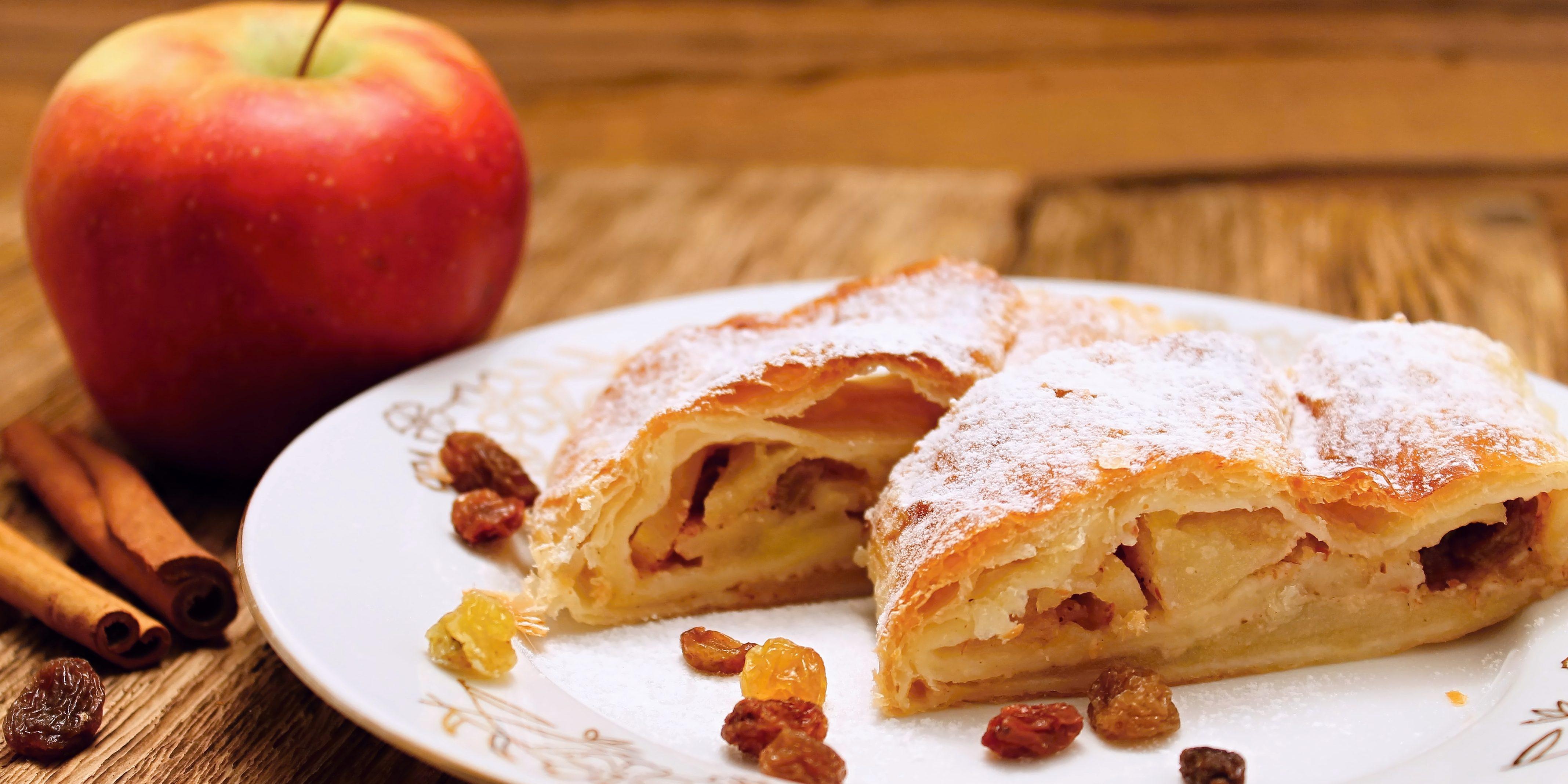 6 способов приготовить восхитительный штрудель с яблоками