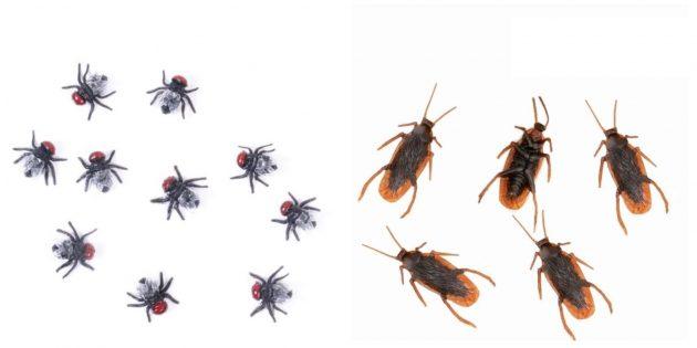 Мухи и тараканы