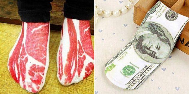Реалистичные носки