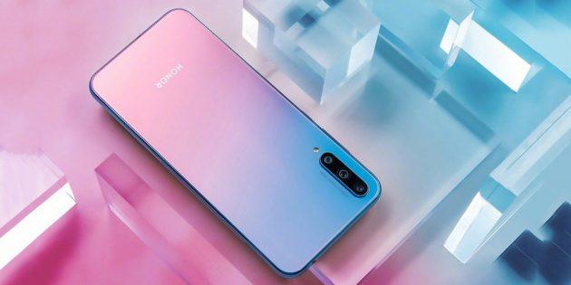 Huawei анонсировала новый Honor 20 Lite: бюджетник с тройной камерой и сканером отпечатков в дисплее