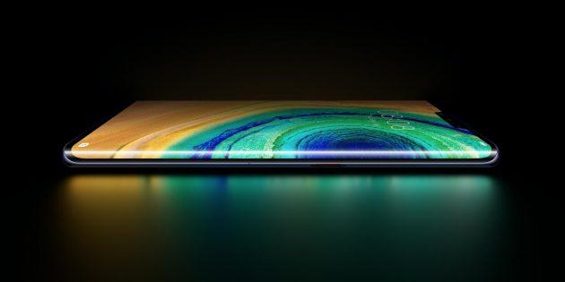 Смартфон с изогнутым экраном дороже обычного