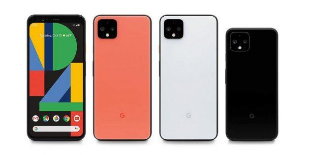 Pixel 4 и Pixel 4XL