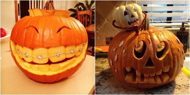 фонарь джека на хеллоуин