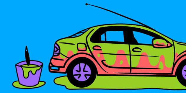 Покупка авто: обратите внимание на толстый слой краски
