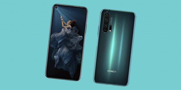 Obzor Honor 20 i Honor 20 Pro — yarkih smartfonov s 4 tyl'nymi kamerami