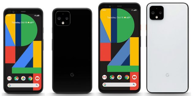 Pixel 4 и Pixel 4 XL