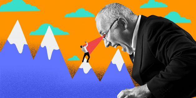 Когда начальник — идиот: проверка сотрудников на лояльность с помощью похода в горы