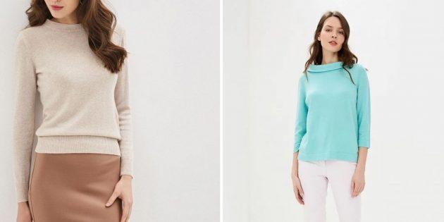 Что подарить маме на день рождения: тонкий кашемировый свитер