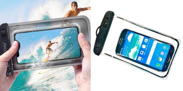 Что подарить маме на день рождения: водонепроницаемый чехол для смартфона