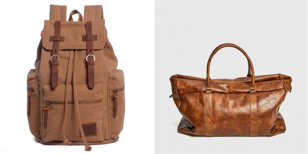 Сумочка или мини-рюкзак для путешествий