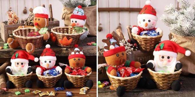 товары с aliexpress, которые помогут создать новогоднее настроение: Вазочка для сладостей