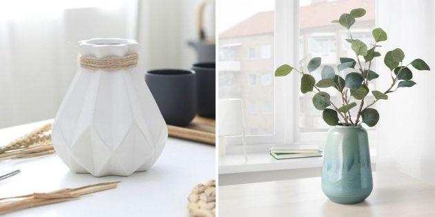 Красивая настольная ваза: что подарить маме на день рождения