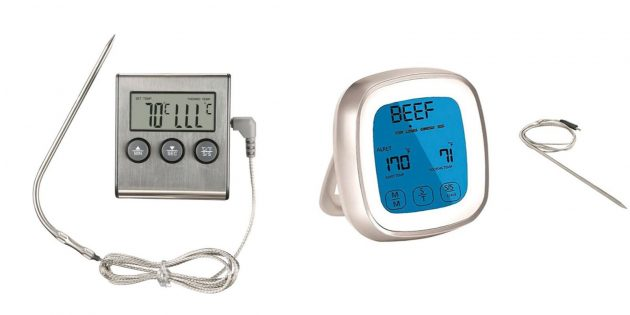 Что подарить маме на день рождения: цифровой термометр для кухни