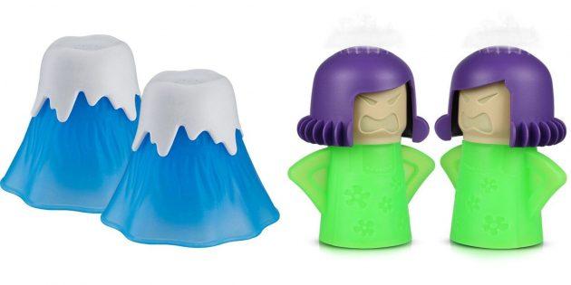 Что подарить маме на день рождения: пароочиститель для микроволновки
